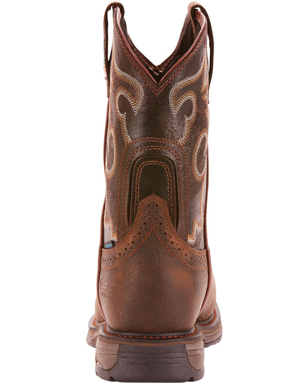 Ariat Men's Brown Workhog H20 600G CSA Boots - Composite Toe , Brown, hi-res