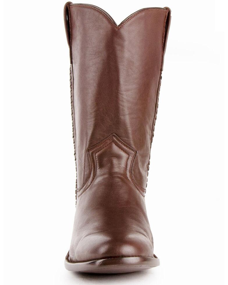 Ferrini Men's Rider Western Boots - Round Toe, Chocolate, hi-res