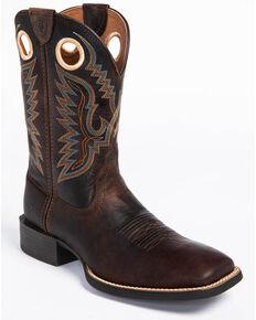 Ariat Men's Brown Sport Ranger Western Boots - Square Toe , Beige/khaki, hi-res