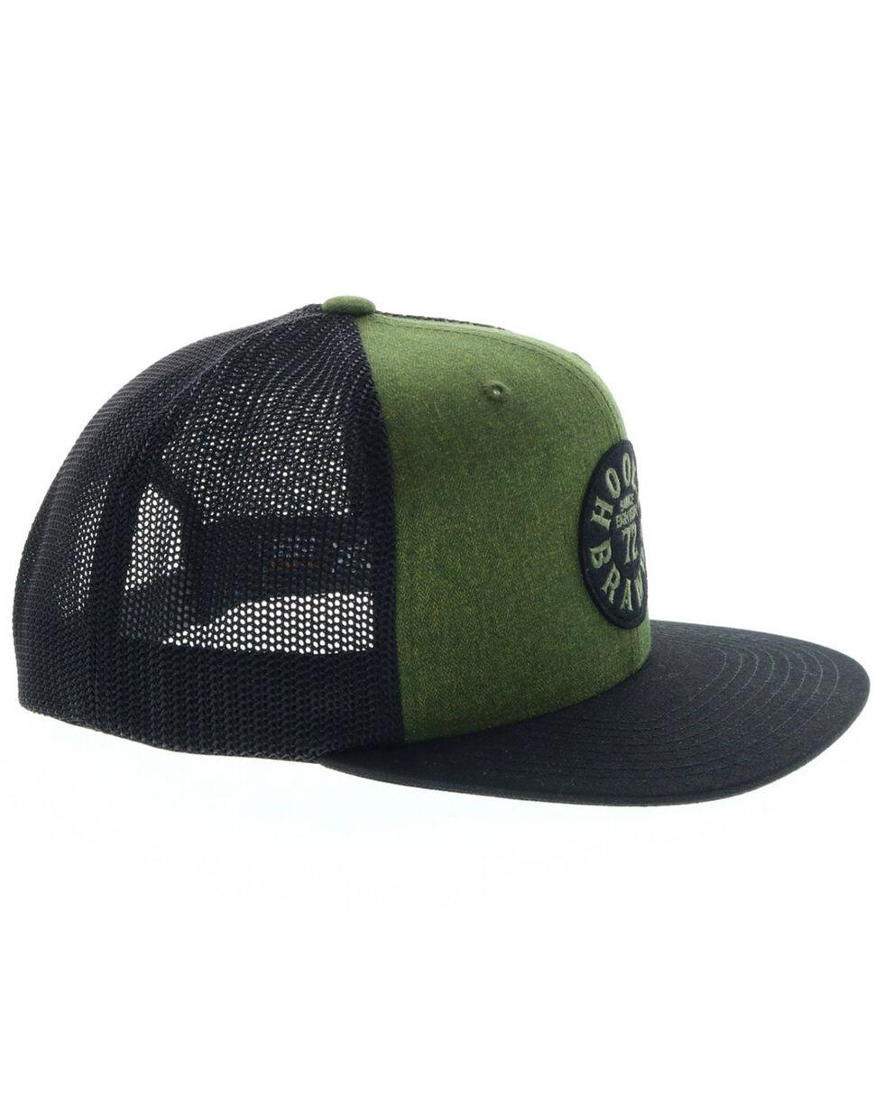HOOey Men's Green Pioneer Trucker Cap, Green, hi-res