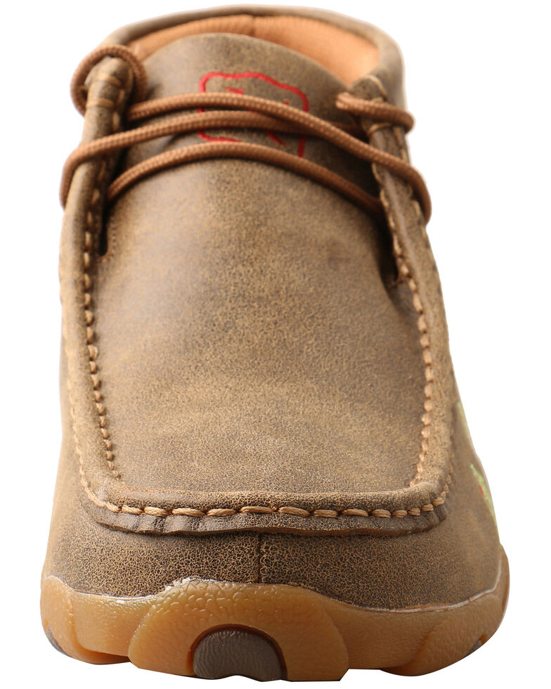 Twisted X Women's Cactus Casual Shoes - Moc Toe, Brown, hi-res