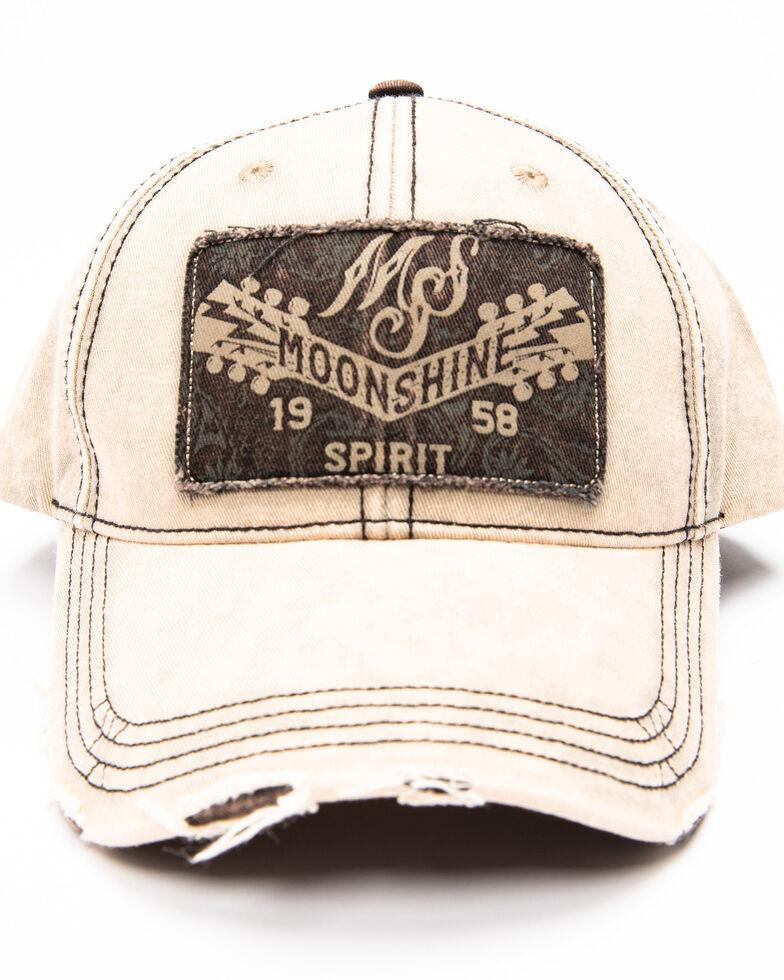 Moonshine Spirit Men's Paisley Patch Cap , Brown, hi-res