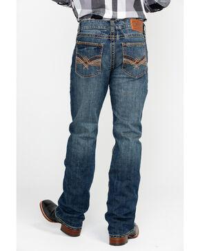 Wrangler Rock 47 Men's Slim Fit Boot Cut Jeans, Blue, hi-res