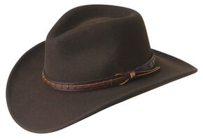 Wind River by Bailey Firehole Brown Western Hat 3c896ba649a1