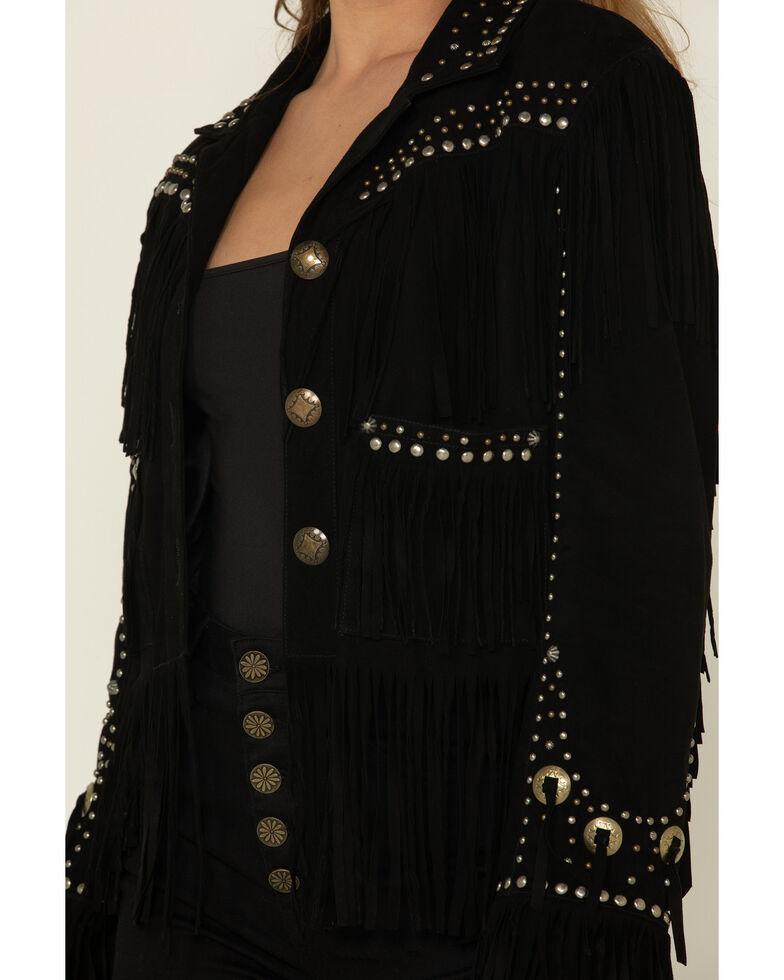Double D Ranch Women's Watanya Cicilla Jacket , Black, hi-res