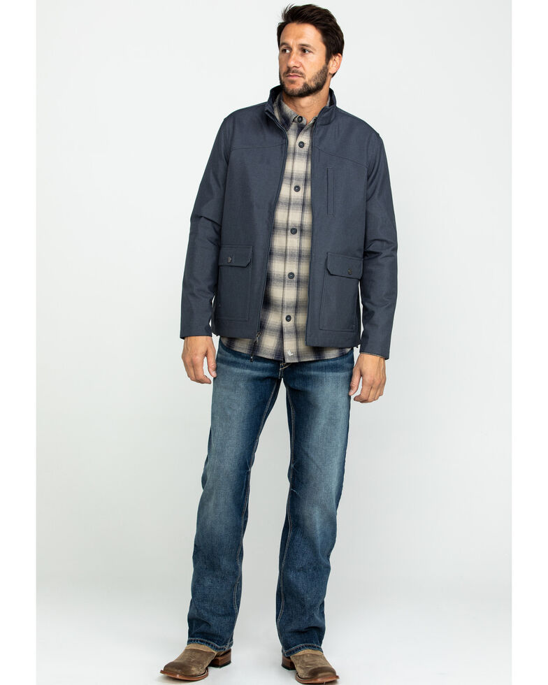 Cody James Core Men's Almore Soft Shell Bonded Jacket , Navy, hi-res