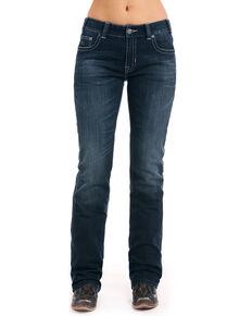 04fd1cd326d Rock   Roll Cowgirl Women s Boyfriend Boot Mid-rise Jeans