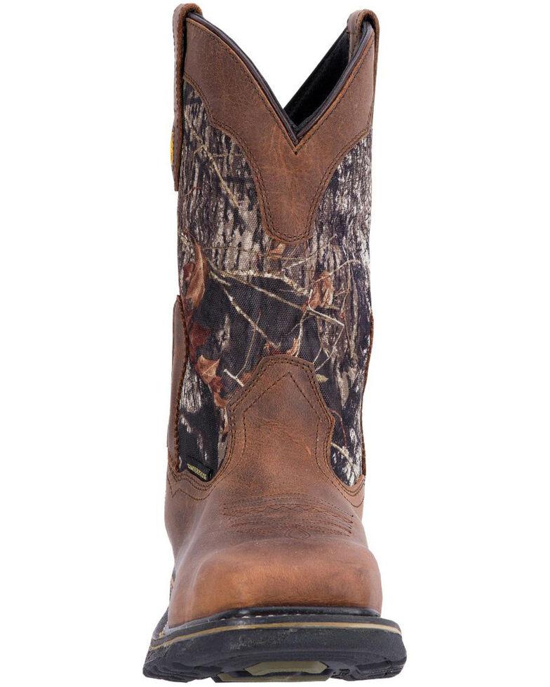 Dan Post Hunter Waterproof Camo Work Boots, Saddle Tan, hi-res