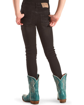 Silver Girls' Amy Black Mid Rise Jeggings - Skinny, Black, hi-res