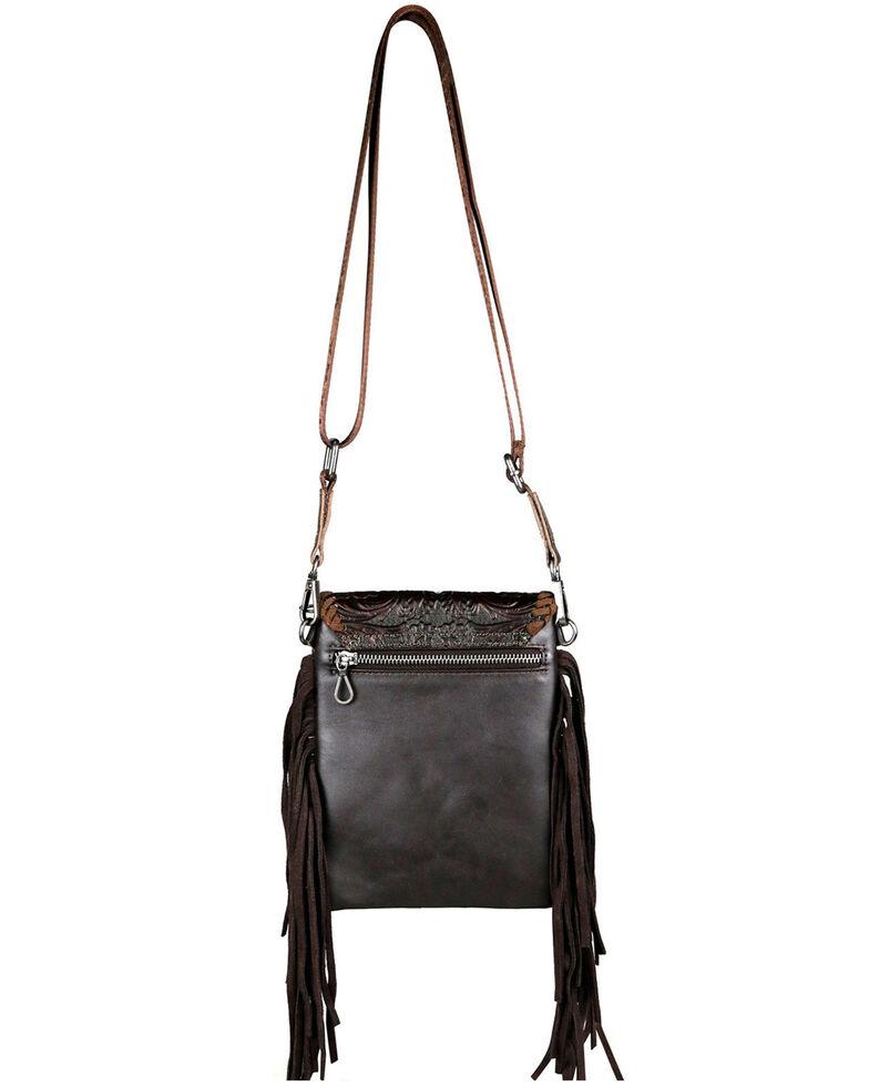 Montana West Women's Mabel Tooled Crossbody Bag, Coffee, hi-res