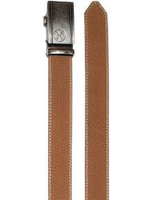 HOOey Men's Brown Ratchet Belt, Brown, hi-res