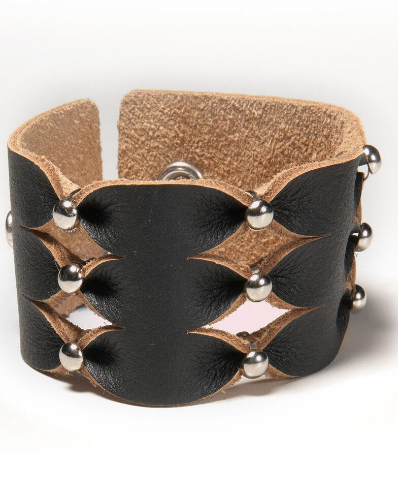 Cowgirl Confetti Women's Simply Stylish Cuff, Black, hi-res