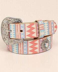 Angel Ranch Girls' Glitter Spindle Router Belt, Multi, hi-res