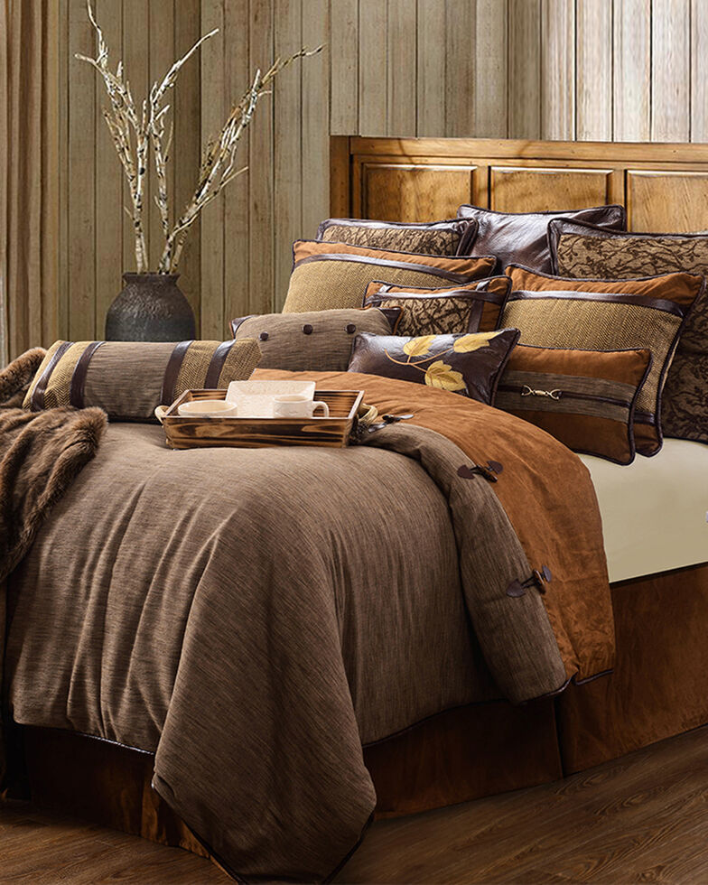 HiEnd Accents Highland Lodge 5-Piece Bed Set - Twin Bed, Multi, hi-res