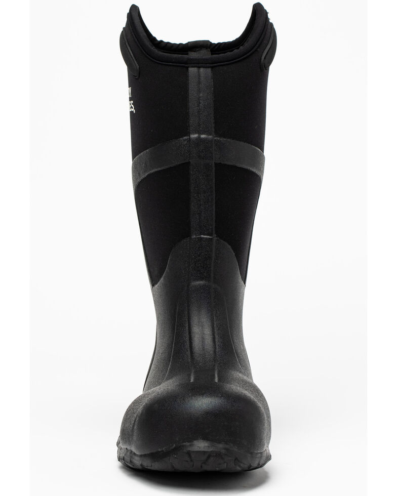 Cody James Men's Rubber Work Boots - Soft Toe, Black, hi-res