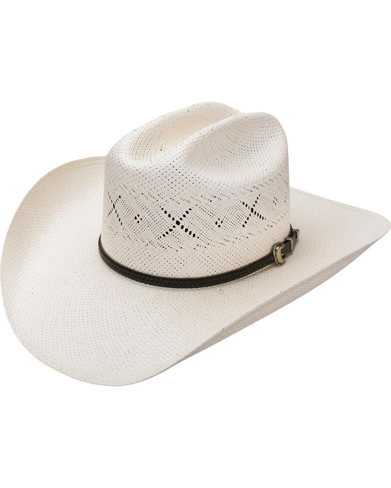 Resistol Men's George Strait All My Ex's 20X Straw Cowboy Hat, Natural, hi-res