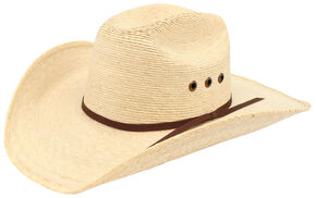 9c3264e872fb6 Ariat Natural Palm Tophand Straw Hat