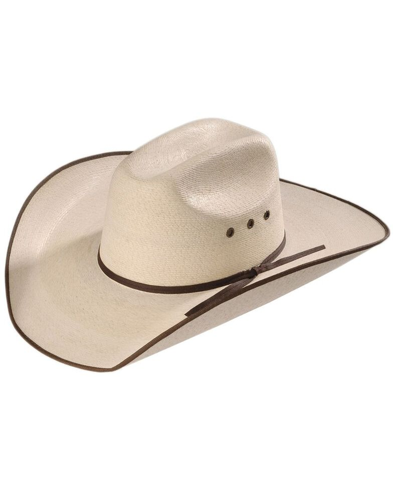 Atwood Low Crown Hereford Chocolate Bound Edge Hat , Natural, hi-res