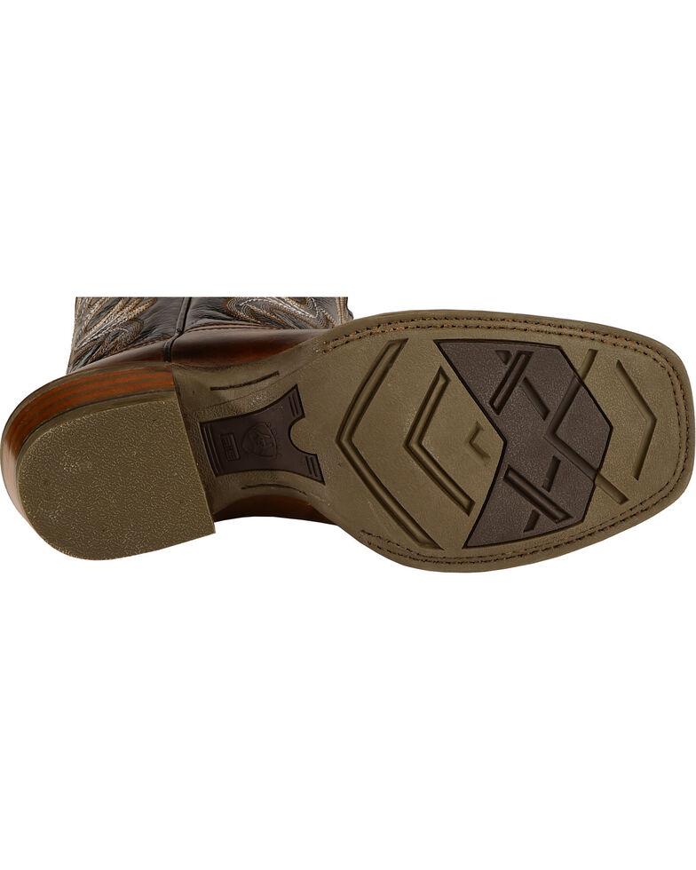 Ariat Men's Crossfire Performance Western Boots - Square Toe, Buckskin, hi-res