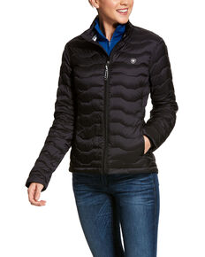 Ariat Women's Black Ideal 3.0 Down Jacket , Black, hi-res