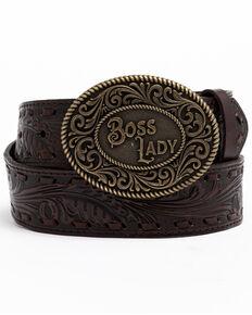 Idyllwind Women's She's The Boss Belt, Brown, hi-res