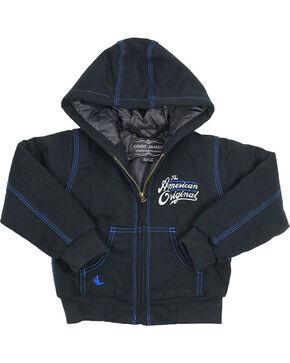 Cody James Toddler Boys' American Original Hooded Jacket, Black, hi-res
