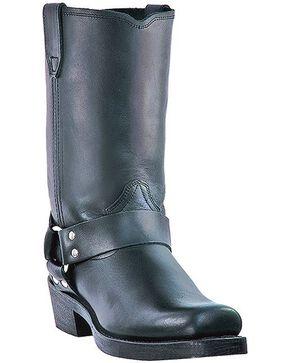 Dingo Jay Harness Boots - Snoot Toe, Black, hi-res