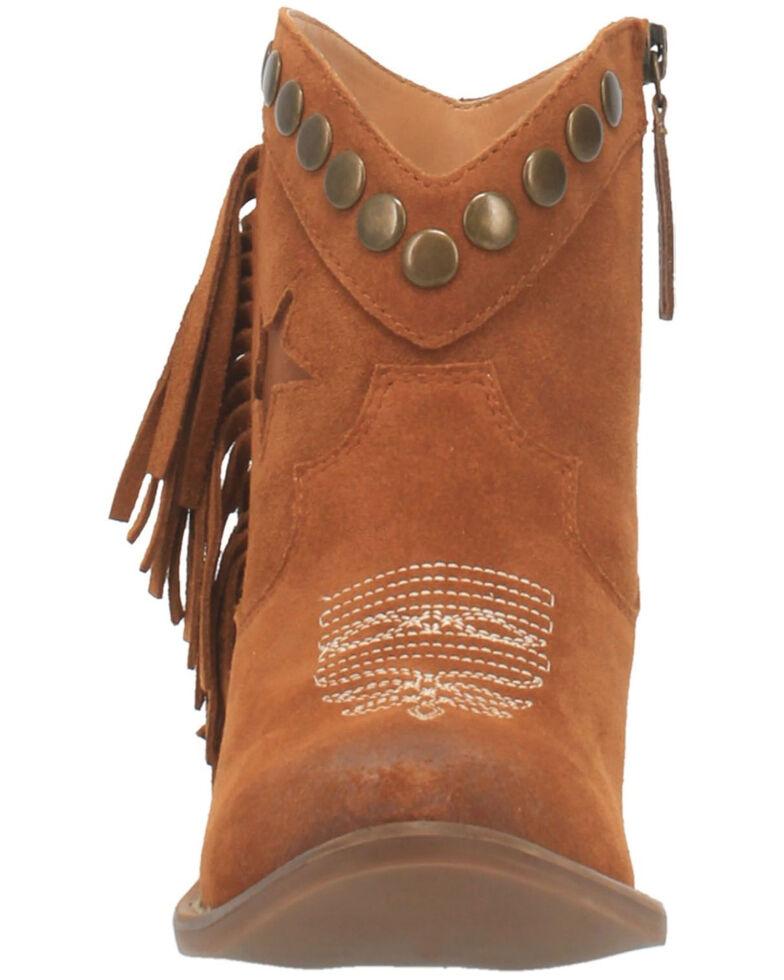 Dingo Women's Lonestar Fashion Booties - Snip Toe, Brown, hi-res