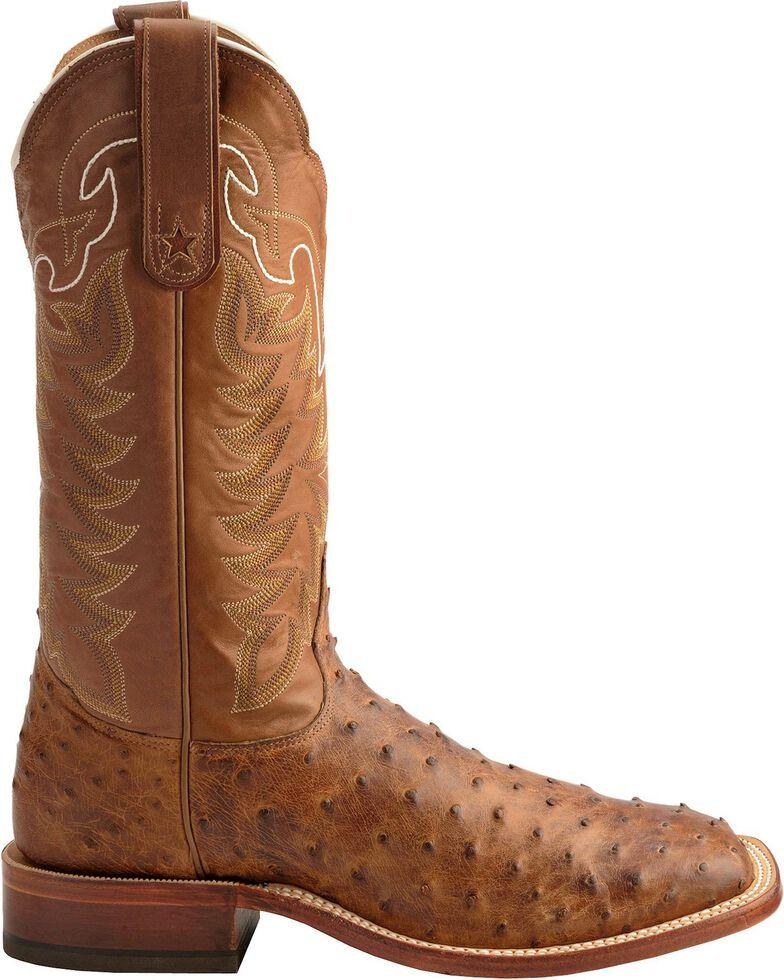 abd323d9edf Tony Lama San Saba Vintage Full Quill Ostrich Cowboy Boots - Square Toe