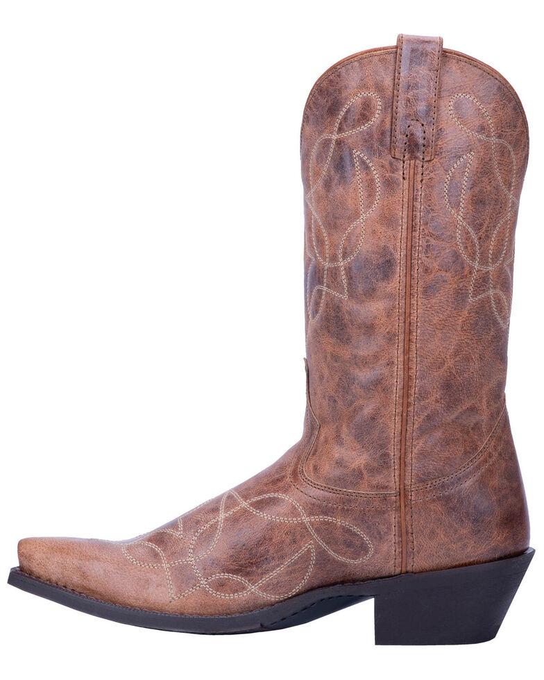 Laredo Men's Oliver Tan Western Boots - Snip Toe, Tan, hi-res