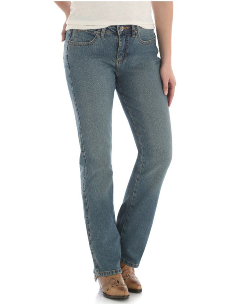 Wrangler Women's Aura Medium Wash Instantly Slimming Jeans , No Color, hi-res