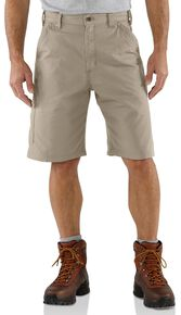 Carhartt Canvas Work Shorts, Tan, hi-res