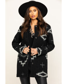 Pendleton Women's Kiva Steps Jacquard Topper Jacket, Multi, hi-res