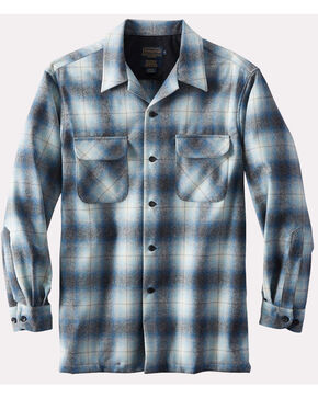 Pendleton Men's Blue Original Board Shirt , Blue, hi-res