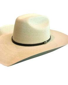 Atwood Hat Co. 7X Natural Grasshopper Palm Leaf Straw Western Hat , Natural, hi-res