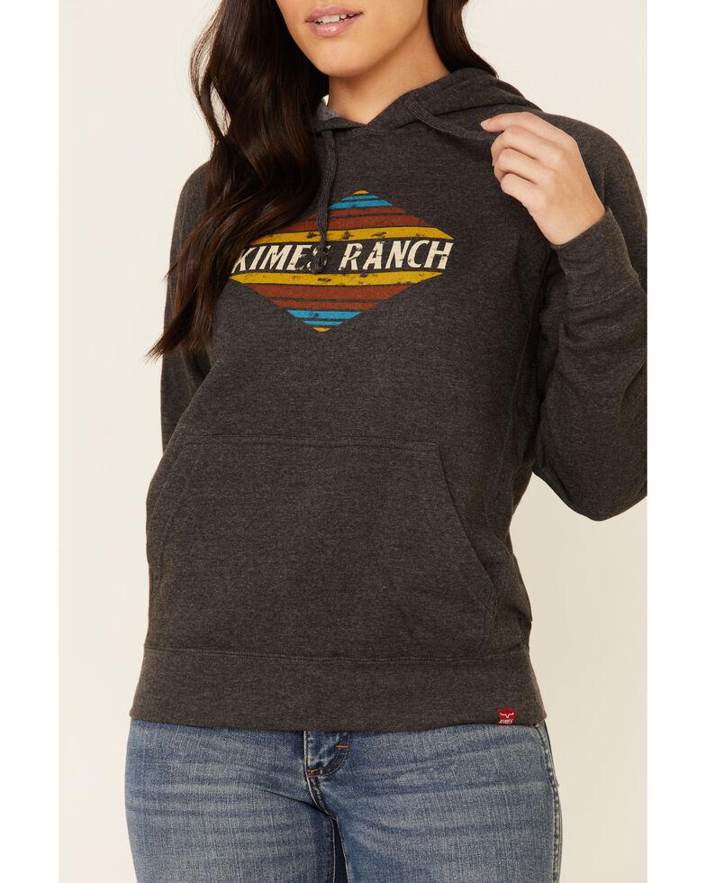 Kimes Ranch Women's Charcoal El Paso Logo Graphic Hoodie , Charcoal, hi-res