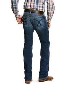 Ariat Men's M7 Rocker Stackable Straight Leg Jeans , Indigo, hi-res