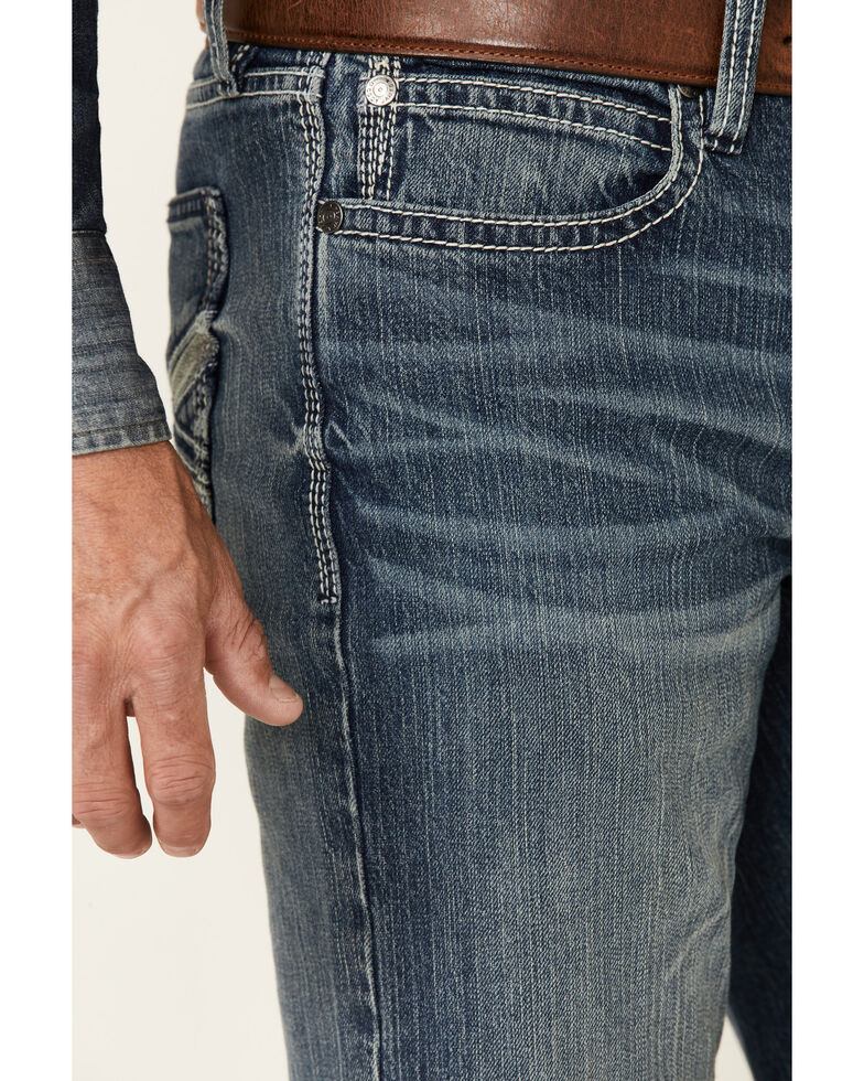 Cody James Men's Hide Out Med Stretch Stackable Straight Jeans , Blue, hi-res