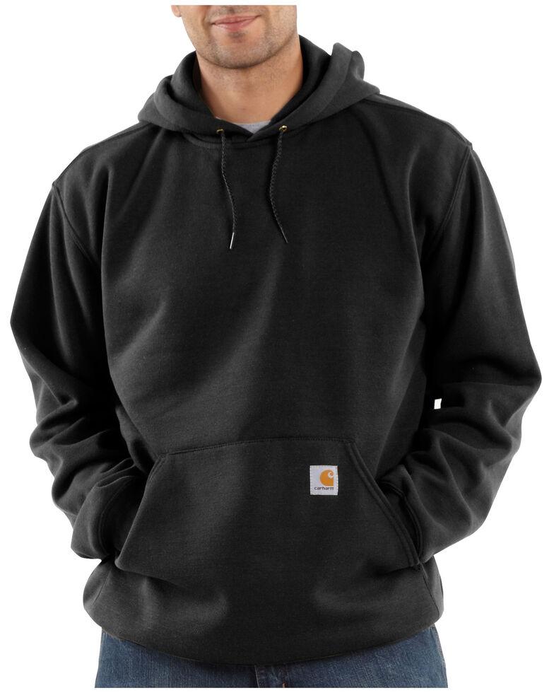Carhartt Hooded Sweatshirt - Big & Tall, Black, hi-res