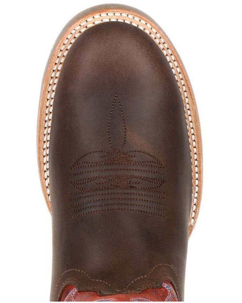 Durango Men's Rebel Pro Dark Chestnut Western Boots - Round Toe, Chestnut, hi-res