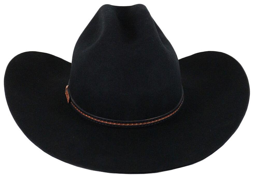 Cody James Lamarie Wool Felt Cowboy Hat, Black, hi-res