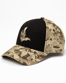Cody James Men's Eagle Digital Camo Print Ball Cap , Camouflage, hi-res