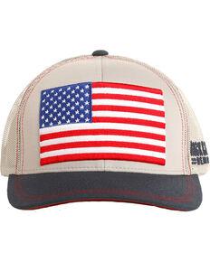 706d248864d Rock   Roll Cowboy Men s Retro Flag Trucker Cap