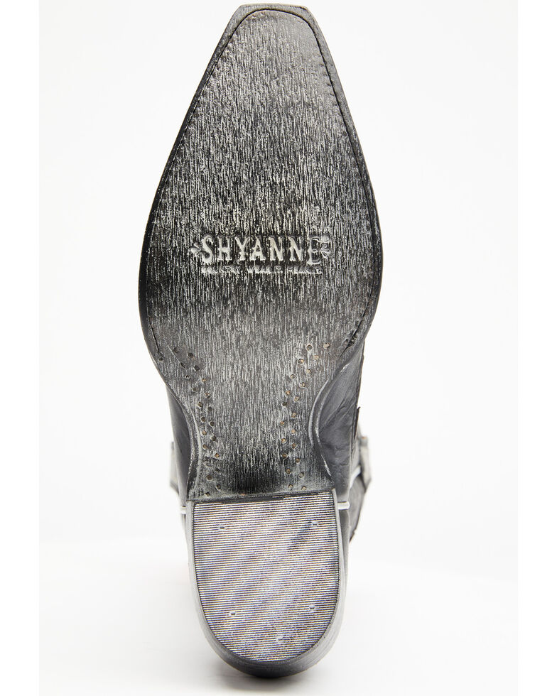 Shyanne Women's Lynx Western Boots - Snip Toe, Black, hi-res