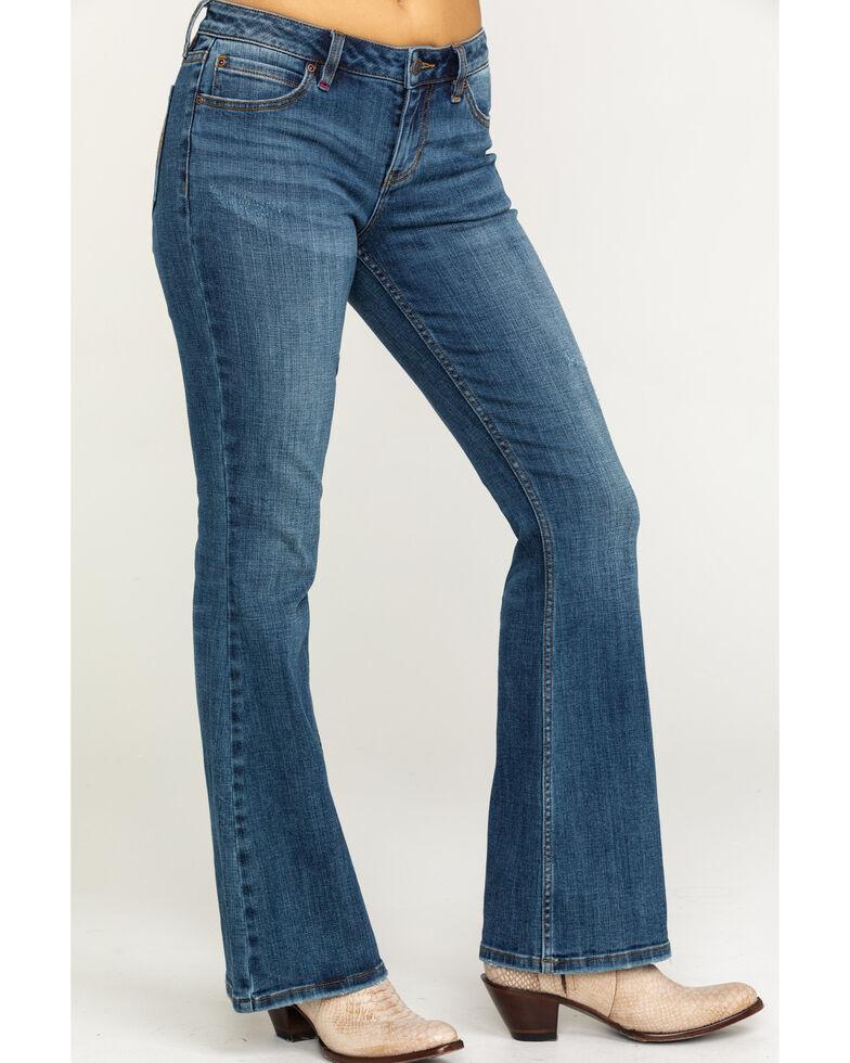 Idyllwind Women's Wild Heart Rebel Bootcut Jeans, Blue, hi-res
