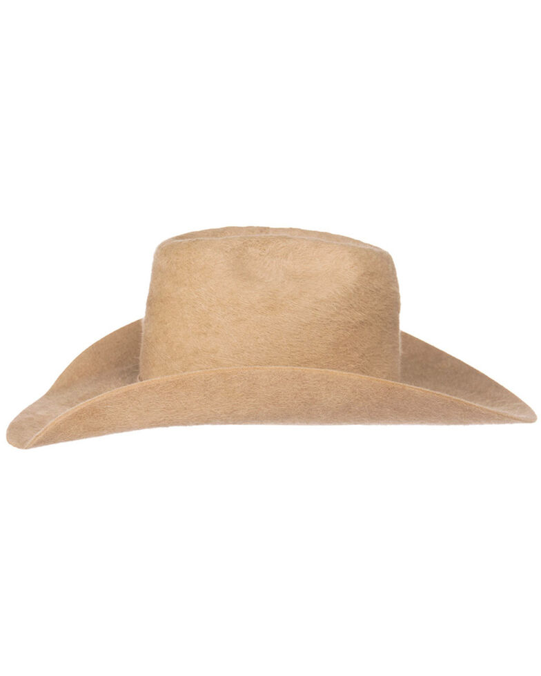 Oil Field Men's 10X Grizzly Silver Belly Cowboy Hat, Silver Belly, hi-res