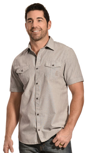 Buffalo David Bitton Men's Saqam Shirt, Stripe, hi-res