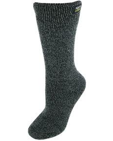Gold Medal Women's Polar Extreme Heat Marl Socks, Black, hi-res