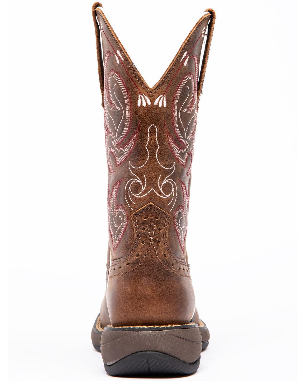 Shyanne Women's Lite Xero Gravity Western Boots - Wide Square Toe, Brown, hi-res