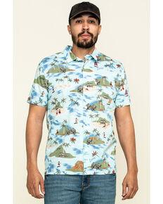 Levi's Men's Galveston Print Short Sleeve Western Shirt , Multi, hi-res